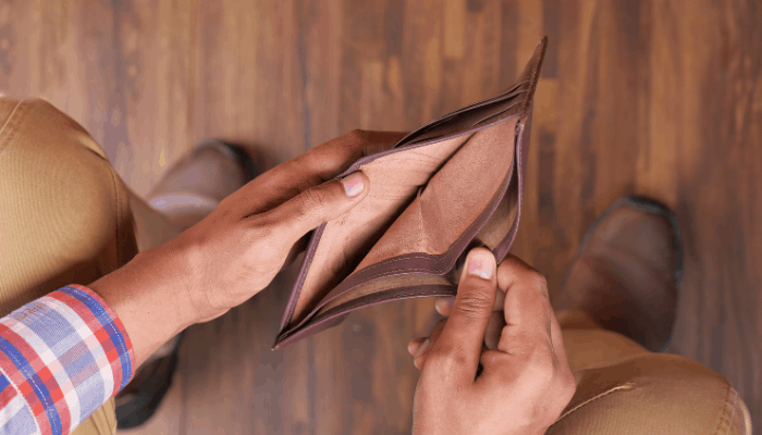signs your debt is out of control