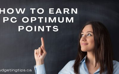 How to Earn PC Optimum Points